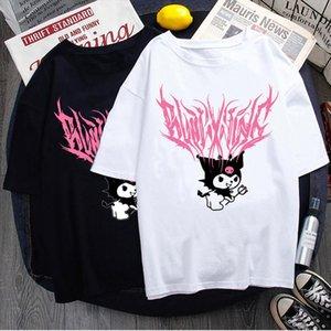 T shirt street aesthetic bratz Rap hip hop Street Rock Harajuku Gothic shirt top clothes tshirt vintage clothing tee sleeve