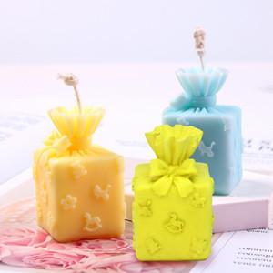 Silikon Kalıp 3D Noel Hediyesi Mum Kalıp Aroma DIY Sabun Mum Kalıp Noel Hediyesi Yapımı Kek Dekorasyon Pişirme Aracı Owe3486