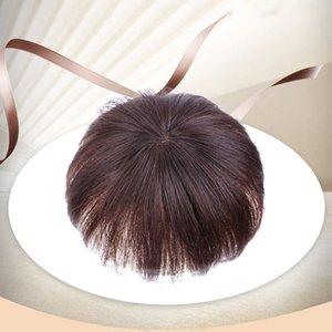 10 PCS Nouvelles femmes véritables cheveux vrais fermetures de cheveux Extensions de cheveux Pièce de rechange pour petite zone Couvrir la pièce de remplacement des cheveux blancs femme