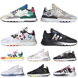 ultraboost nite jogger gel asics off white Scarpe 3M Reflective Unisex scarpe sportive traspiranti di marca triple nero Tutte le sneakers di design di lusso