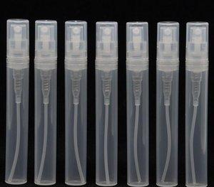 Transparente vacía botellas de pulverización de plástico vacío 2ml l 5ml 10 ml botella de perfume atomizador vacío 5cc mini refilabl Jllnck Hairjersey