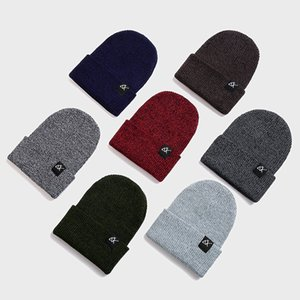 2019 New Winter Beanies For Men Hats Knitted Cap Hip Hop Hat Girl Autumn Male Beanie Caps Warmer Bonnet Boys Casual Warm Cap