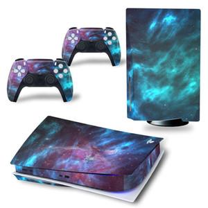 STAR SHIZES PARA PS5 Disco Viny Decal Adesivo Console + 2 Controlador Skin Adesivo para Sony PlayStation 5 Acessórios do Jogo Y1201