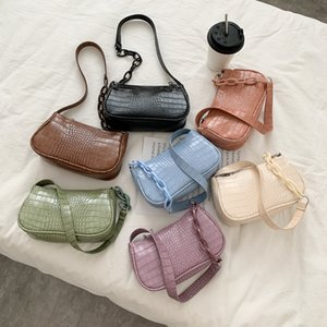 Bag Womens Summer Trendy Underarm Shoulder Bag Special-Interest Design Portable European and American Style Chain Womens Bag