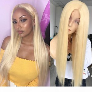 Beautiful Fashion Ombre Color Wig 613 Glueless 13x6x1 Lace Front Wig With baby hair Free Shipping in Stock