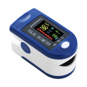 Finger Pulse Oximeter Finger Clip Heartbeat Saturation Oxygen Pulsoksymetr Heart Rate Spo2 Monitor Blood Saturation Meter Sensor