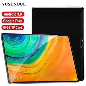 New Model Dual Glass 10 inch Tablet Android 9.0 Dual SIM Tablette 2GB 32GB Wifi Bluetooth Android Tablets PC with GPS Phone Call1