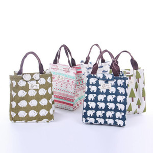 Lunch Box Cooler Bag Fashion Insulated Thermal Picnic Lunch Bags for Women kids Men Cooler Tote Bag Case