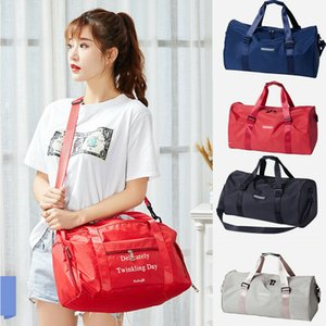 Women's Travel Bags Hand Luggage Handbag Sports Gym Shoulder Bag Weekend Duffel Pack  BY