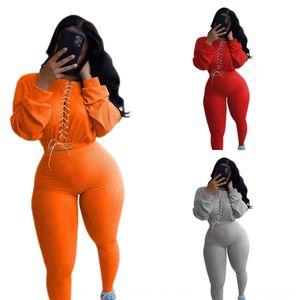 YeWQ Women Jogging suit Hoodies Pants 2 piece Sets SweatSuits Sportswear Legging Casual outwear tracksuit Fall Winter S-2XL 3609