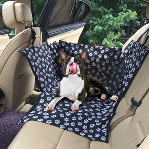 Travel Waterproof Pet Dog Carrier Rear Back Pet Dog Car Seat Cover Transport Seat Cushion Hammock For Puppy Cat