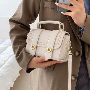 Kleine PU Leder Crossbody Taschen für Frauen 2021 Neue Frauen Handtaschen und Geldbörsen Weibliche Schulter Messenger Bag Dame Handtasche 6901