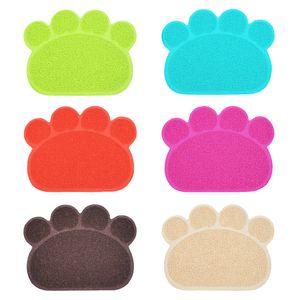 Dog Cat Mat PVC 30*40cm Non Slip Anti Cats Sanding Litter Mats Basin Kitty Rub Feet Pad Pet Supplies New Arrival 3 6jn M2