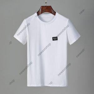 الصيف 2021 جديد مصممين الرجال ملابس الزى اللون شارة الكلاسيكية إلكتروني عارضة t-shirt المرأة الفاخرة تي شيرت اللباس تي بلايز