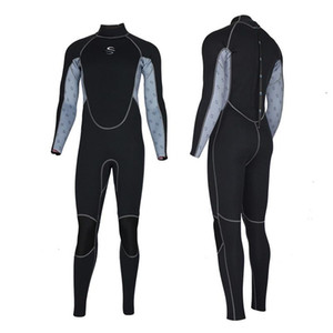 SLINX 2mm Slim Wetsuits High-elastic Neoprene Men One-piece Sunscreen Keep Warm Scuba Diving Suit Full Body Snorkeling Swimsuit