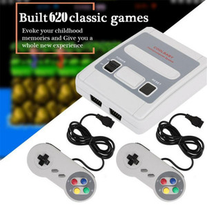 HD Retro Mini TV Game Case 8 Bit Retro With Two Gamepad Handheld Gaming Player For SFC