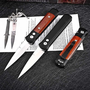 Mini prot godfather 920 Pocket automatic knife cold 154cm steel micro ut85 BM 3400 4600 outdoor hunting Self Defense Tactical survival knife