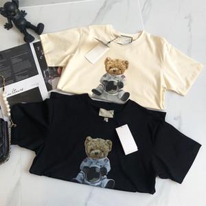 2021 الفاخرة عارضة تي شيرت جديد الرجال ارتداء مصمم قصيرة الأكمام تي شيرت القطن جودة عالية بالجملة