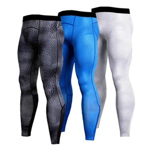 Men's Running Sports Tights Gym Fitness Exercise Sports Compression Pants Training Yoga Pants Outdoor Running Jogging