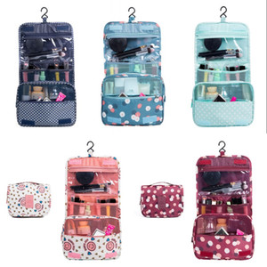 24*10*19CM Makeup Bag Rectangle Magic Stick Cosmetic Cloth Pouch Travel Portable DIY Organizer Storage Handbags Hook 6 8yf G2