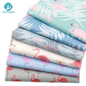 Menstruation 6 unids   lot 40cm * 50cm Flemish 100% cotton patchwork pillow knitted material scrapbook doll