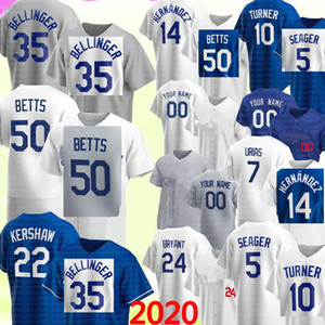 50 Mookie Betts 35 Cody Bellinger Jersey Los Clayton Kershaw Angeles Enrique Hernandez Justin Turner Corey Segarder Piazza Julio Urias Jersey