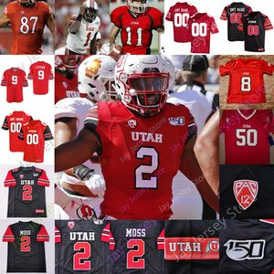 Utah Utes Jersey Jersey NCAA College Smith Huntley Moss Thompson Kuithe Anae Lloyd Brumfield Dixon Shelley Covey Hansen BolleLelei