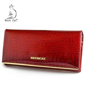 Beth Kedi Kadın Cüzdan ve Çantalar Gerçek Deri Bayan Para Kart Sahibi Çanta Bayanlar Para Çantaları Timsah İnek Cüzdan C1115