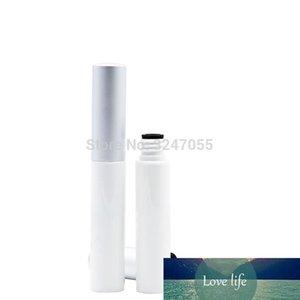 3.5ml Plastic Empty Cosmetic Eyeliner White Tube N Aluminum Cap,DIY Portable Travel Eyelashes Glue Bottle,Eye Beauty Makeup Tool