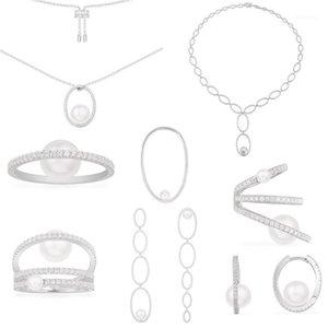 Moda 925 Ayar Gümüş Kopyalama 1: 1 Kopya, Pavé Pavé Ponkül Monaco Takı Kadınlar için Yeni Yıl Noel Hediyesi1