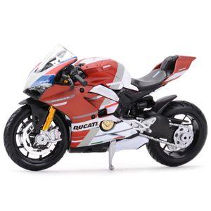 Maisto 1:18 Ducati-panigale v4 s corse satic die cast المركبات النادرة الهوايات النارية نموذج اللعب Y1130
