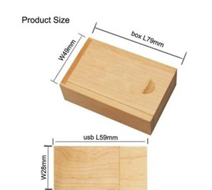 Pendrive Personalizado Usb Flash Drive Wooden Pen Drive 4gb 8gb 16gb 32gb 64gb Usb 2.0 Wedding Gift(over 20pcs jllEPy net_store