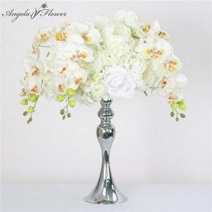 35cm 45cm hydrangea peony rose orchid artificial flower ball centerpiece decor wedding backdrop table flower ball bouquet wall