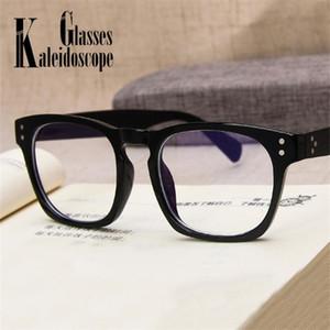 Marcos de gafas para hombres Mujeres Vintage Square Gafas Hombres Blue Light Blocking Transparente Optical Computer Spectacle Glasses