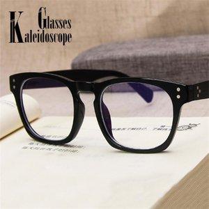 Marcos de computadora Eyewear Mujeres Vintage EyeGlasses óptico Hombres Blue Blue Blocking Cuadrado Transparente Luz Spectacle Glasses OBFLH