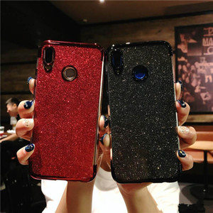 Glitter Bling 3 in 1 Soft TPU Plating Case For Huawei P8 P20 Nova 3 3i Mate 10 20 Pro Lite Y5 Y6 Y7 Prime Y9 2018 Honor 8X Max P Smart