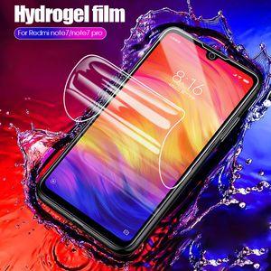 Full Cover Hydrogel Film For Xiaomi Redmi Note 8 7 Pro 8A 7A Screen Protector For Xiaomi Mi 9T 9 Lite A3 Pro 5G Mix 4 3 Film