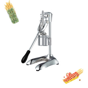 Presse manuelle Français Frites Frites Frites Chopper Distributeur Super Long Long Frites Machine Long Potato Machine