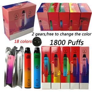 100% Original Vmax Switch 2 in 1 Einwegvapes Stift leer E Zigaretten 5,8ml Pods 900mAh V max Einweg-Vape-Stifte 1800Pepps