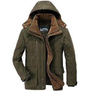 2019 Winter Jacket Men Parkas Jacket Coat Male Military -15 Degree Hooded Collar Thick Warm Mens Winter Parkas Big Size 6XL 7XL T190909