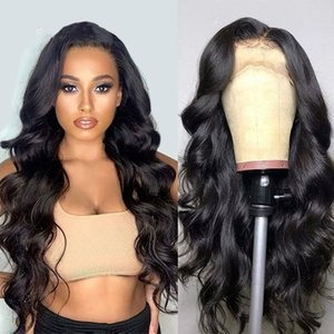 Body Wave Wig Short Wig Brazilian PrePlucked Lace Front Human Wigs 130% Remy Lace Wigs 13x4 Lace Front Human Hair Wigs