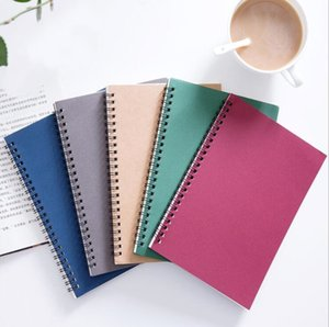 Notebooks Spiral Notebook Reusable Notebook Diary Book A5 Paper New School Subject College Ruled Custom Advertising 4 Colors GWB3151