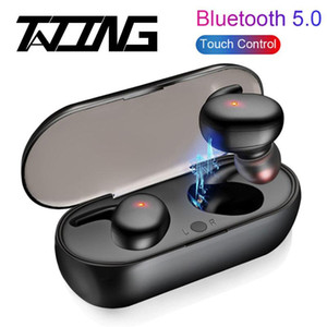TATING For Android Wireless Bluetooth Earphones Long Battery HD Stereo Tws Bluetooth Earphones BT5.0 Wireless Earbuds