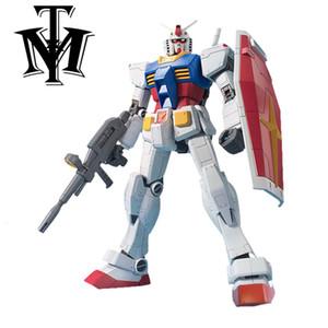 Anime Mobile Suit Daban PG 1/48 RX-78-2 Gundam Действие Рисунок Hot Kids Toy 37 см Уборка Робот Пистолет и Щит Модель Brinquedos