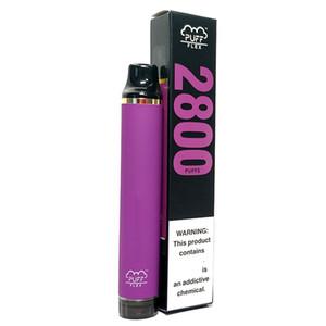 Puff Bar Flex 2800 Taucher Einweg-Pods-Gerät Vape-Kits 1500mAh-Batterie Vorgefüllt 5% Upgrade von Flow XXL Plus-Bars