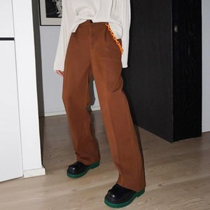 Neploha Men's Thicken Warm Nylon Pants 2020 Winter New Korean Streetwear Woolen Pants Casual Oversize Streetwear Trousers