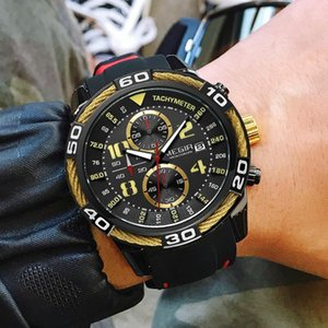 MEGIR Men Sports Watches Fashion Silicone Strap Man Waterproof Analog Quartz Wristwatches Clock Male Relogio Masculino