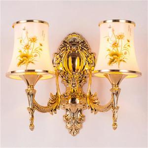 Creative retro LED wall lamp bedside interior bedroom decoration wall lights aisle corridor background wall lamps