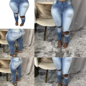 QLQE Dimensione Fashion Plus Jeans Donne Leijijeans Boyfriend Donne Jeans Capri Bianco Bianco Ladies Casual Lady Jeans Pant