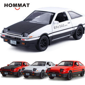 HOMMAT 1:28 Initial D Toyota Sprinter Trueno AE86 Alloy Diecasts & Toy Vehicles Car Model Gift Cars Toys For Children Z1124